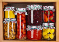 Jams, pickles and fruits