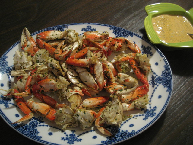 Tra Vigne Garlic Roasted Crab