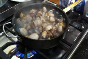 Fresh, Local, Steamed Clams & Mussels